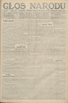 Głos Narodu (wydanie poranne). 1917, nr86