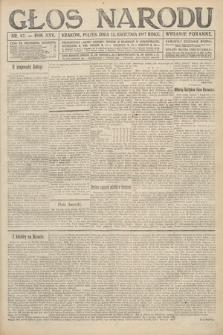 Głos Narodu (wydanie poranne). 1917, nr87