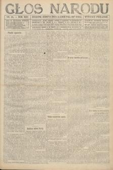 Głos Narodu (wydanie poranne). 1917, nr88