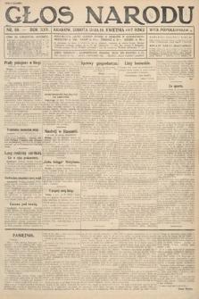 Głos Narodu (wydanie popołudniowe). 1917, nr89