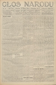 Głos Narodu (wydanie poranne). 1917, nr90
