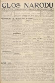 Głos Narodu (wydanie popołudniowe). 1917, nr91
