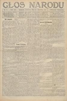 Głos Narodu (wydanie poranne). 1917, nr94