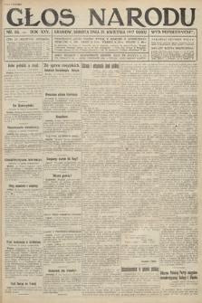 Głos Narodu (wydanie popołudniowe). 1917, nr95