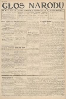Głos Narodu (wydanie popołudniowe). 1917, nr96