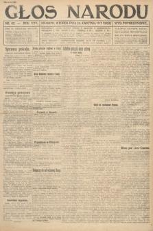 Głos Narodu (wydanie popołudniowe). 1917, nr97