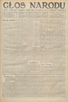 Głos Narodu (wydanie poranne). 1917, nr97