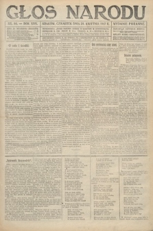 Głos Narodu (wydanie poranne). 1917, nr98