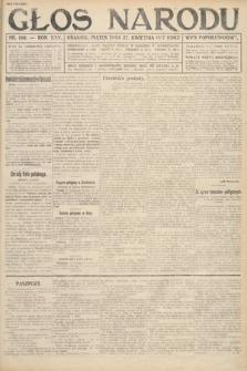 Głos Narodu (wydanie popołudniowe). 1917, nr100
