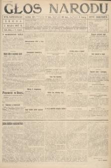 Głos Narodu (wydanie popołudniowe). 1917, nr103