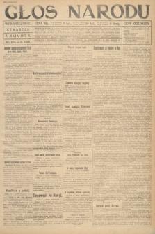 Głos Narodu (wydanie wieczorne). 1917, nr104