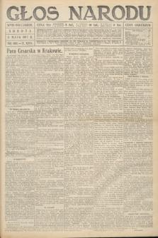 Głos Narodu (wydanie wieczorne). 1917, nr106