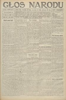 Głos Narodu (wydanie poranne). 1917, nr107