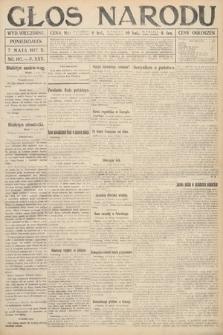 Głos Narodu (wydanie wieczorne). 1917, nr107