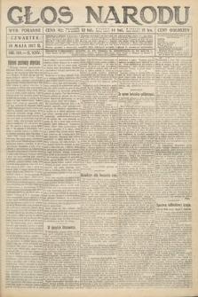 Głos Narodu (wydanie poranne). 1917, nr110