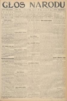 Głos Narodu (wydanie wieczorne). 1917, nr111