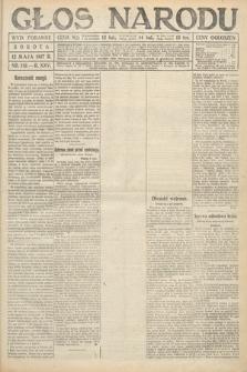 Głos Narodu (wydanie poranne). 1917, nr112