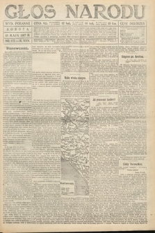 Głos Narodu (wydanie poranne). 1917, nr117