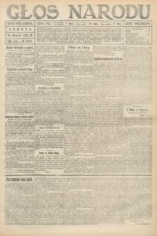 Głos Narodu (wydanie wieczorne). 1917, nr117