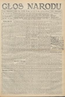 Głos Narodu (wydanie poranne). 1917, nr119