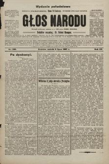 Głos Narodu : dziennik polityczny, założony w r. 1893 przez Józefa Rogosza (wydanie poranne). 1907, nr298