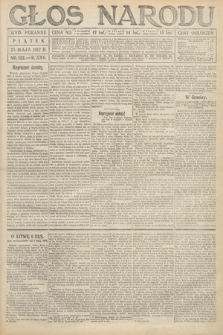 Głos Narodu (wydanie poranne). 1917, nr122