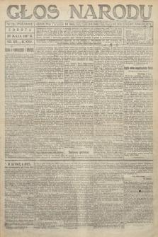 Głos Narodu (wydanie poranne). 1917, nr123