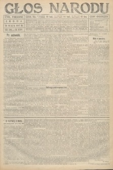 Głos Narodu (wydanie poranne). 1917, nr126