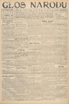 Głos Narodu (wydanie wieczorne). 1917, nr129