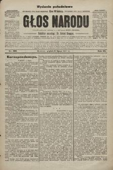 Głos Narodu : dziennik polityczny, założony w r. 1893 przez Józefa Rogosza (wydanie poranne). 1907, nr308