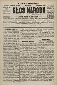 Głos Narodu : dziennik polityczny, założony w r. 1893 przez Józefa Rogosza (wydanie wieczorne). 1907, nr309