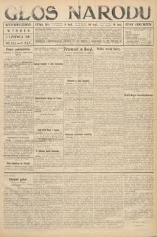 Głos Narodu (wydanie wieczorne). 1917, nr132