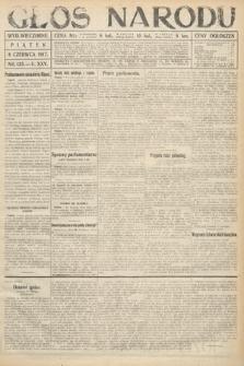 Głos Narodu (wydanie wieczorne). 1917, nr135
