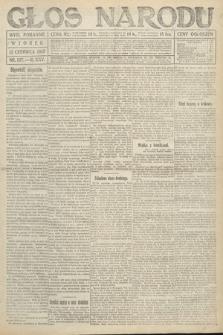 Głos Narodu (wydanie poranne). 1917, nr137