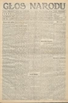 Głos Narodu (wydanie poranne). 1917, nr138