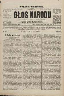 Głos Narodu : dziennik polityczny, założony w r. 1893 przez Józefa Rogosza (wydanie wieczorne). 1907, nr327