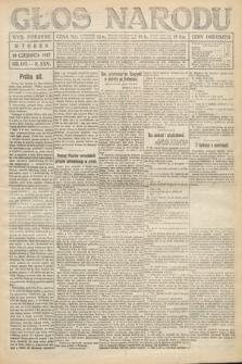 Głos Narodu (wydanie poranne). 1917, nr143