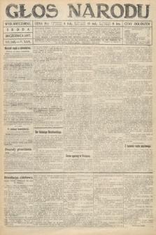 Głos Narodu (wydanie wieczorne). 1917, nr145