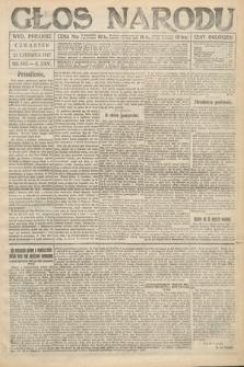 Głos Narodu (wydanie poranne). 1917, nr145