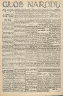 Głos Narodu (wydanie poranne). 1917, nr146