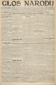 Głos Narodu (wydanie wieczorne). 1917, nr151