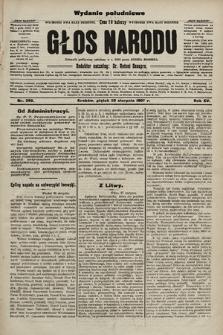 Głos Narodu : dziennik polityczny, założony w r. 1893 przez Józefa Rogosza (wydanie poranne). 1907, nr390