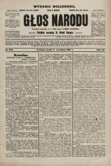 Głos Narodu : dziennik polityczny, założony w r. 1893 przez Józefa Rogosza (wydanie wieczorne). 1907, nr409