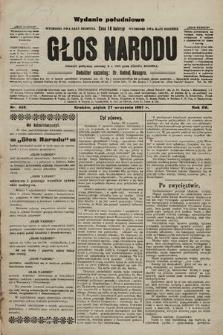 Głos Narodu : dziennik polityczny, założony w r. 1893 przez Józefa Rogosza (wydanie poranne). 1907, nr438