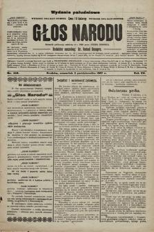 Głos Narodu : dziennik polityczny, założony w r. 1893 przez Józefa Rogosza (wydanie poranne). 1907, nr448
