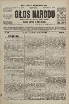Głos Narodu : dziennik polityczny, założony w r. 1893 przez Józefa Rogosza (wydanie wieczorne). 1907, nr485