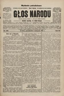 Głos Narodu : dziennik polityczny, założony w r. 1893 przez Józefa Rogosza (wydanie poranne). 1907, nr500