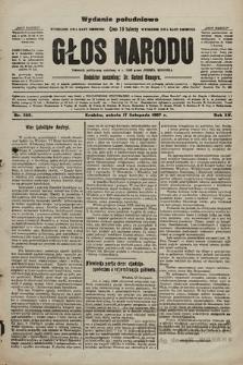 Głos Narodu : dziennik polityczny, założony w r. 1893 przez Józefa Rogosza (wydanie poranne). 1907, nr522