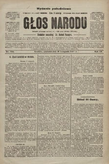 Głos Narodu : dziennik polityczny, założony w r. 1893 przez Józefa Rogosza (wydanie poranne). 1907, nr524
