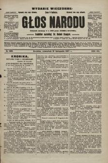 Głos Narodu : dziennik polityczny, założony w r. 1893 przez Józefa Rogosza (wydanie wieczorne). 1907, nr529